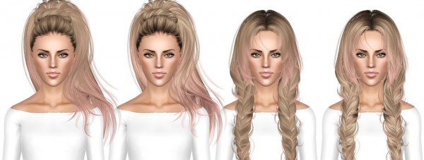 HAIR DUMP 8 by July Kapo for Sims 3