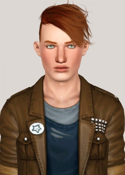 Stealthic Histeria hairstyle retextured by Someone take photoshop away from me for Sims 3