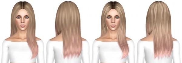 Ade Darma Anggun hairstyle retextured by July Kapo for Sims 3