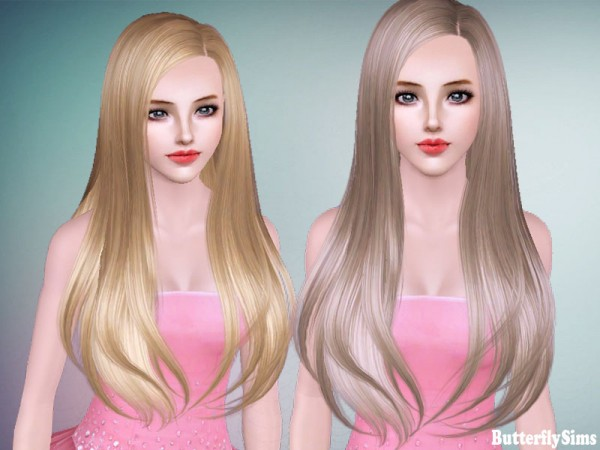Hairstyle 145 by Butterfly Sims for Sims 3
