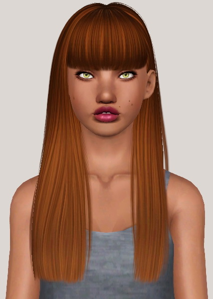 Nightcrawler Get Up and Poison hairstyles retextured by Someone take photoshop away from me for Sims 3