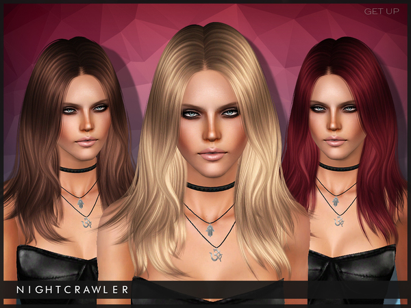 Get Up hairstyle for TS 3 by Nightcrawler by The Sims Resource for Sims 3