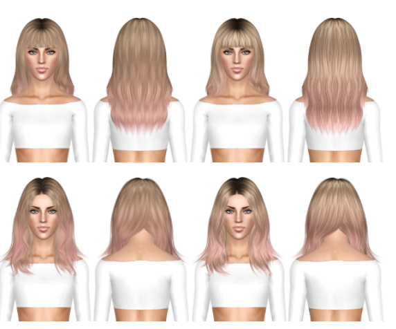 Ade Darma Taylor and Nightcrawler Get Up hairstyles retextured by July Kapo for Sims 3