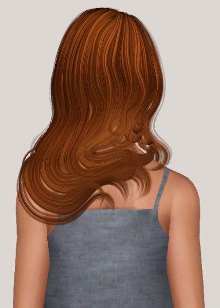 Sintiklia Lana hairstyle retextured by Someone take photoshop away from me for Sims 3