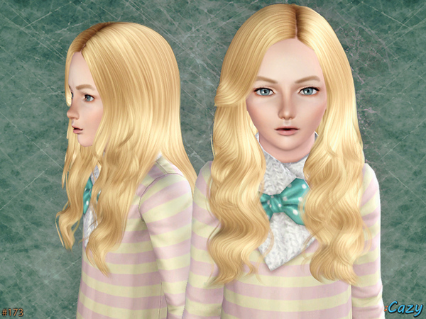 Raindrops   Hairstyle by Cazy by The Sims Resource for Sims 3