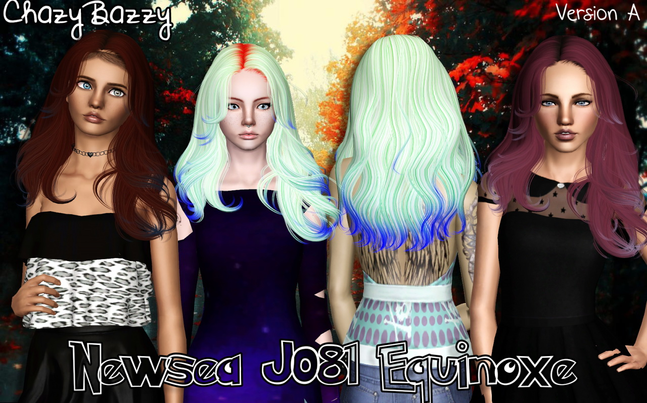 Newseas J081 Equinoxe Hairstyle Retextured By Chazy Bazzy Sims 3