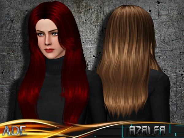 Azalea hair by Ade Darma by The Sims Resource for Sims 3