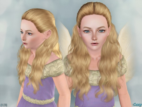 Hannah Hairstyle Set by Cazy by The Sims Resource for Sims 3