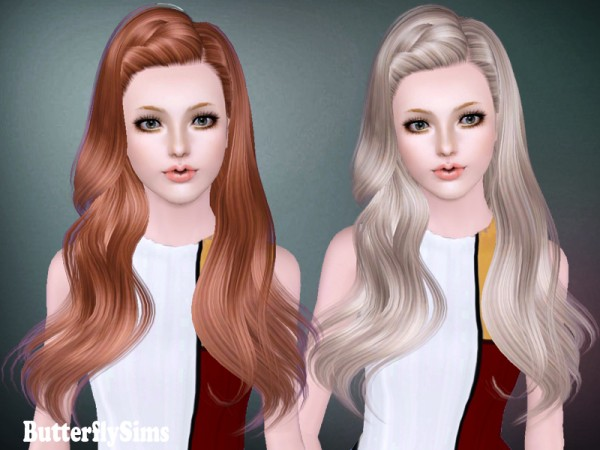 Hair 144 by Butterfly Sims for Sims 3