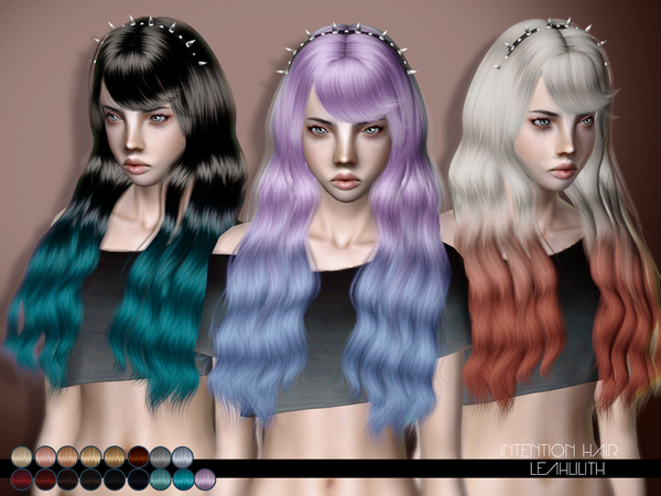Intention Hairstyle by LeahLillith by The Sims Resource for Sims 3