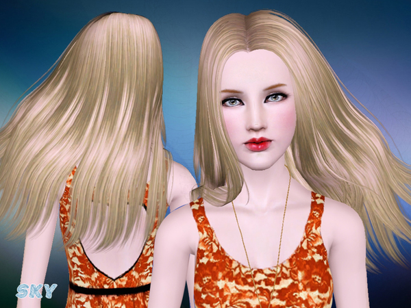 Hairstyle for sims 3   282 by Skysims by The Sims Resource for Sims 3
