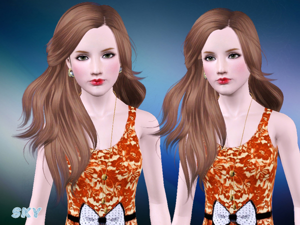 Hairstyle 281 by Skysims by The Sims Resource for Sims 3