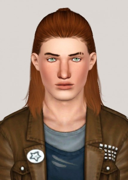 Nightcrawler`s Thunder hairstyle retextured by Someone take photoshop away from me for Sims 3