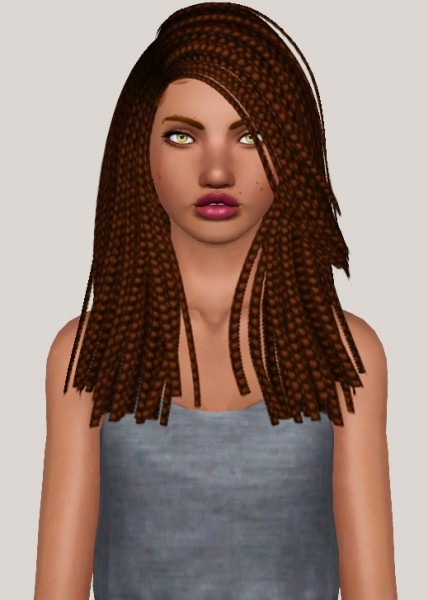 Nightcrawler`s Sparks hairstyle retextured by Someone take photoshop away from me for Sims 3