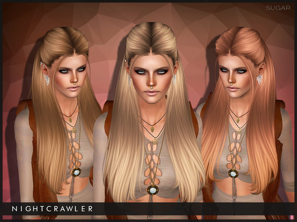 Sugar hairstyle for TS3 by Nightcrawler by The Sims Resource for Sims 3