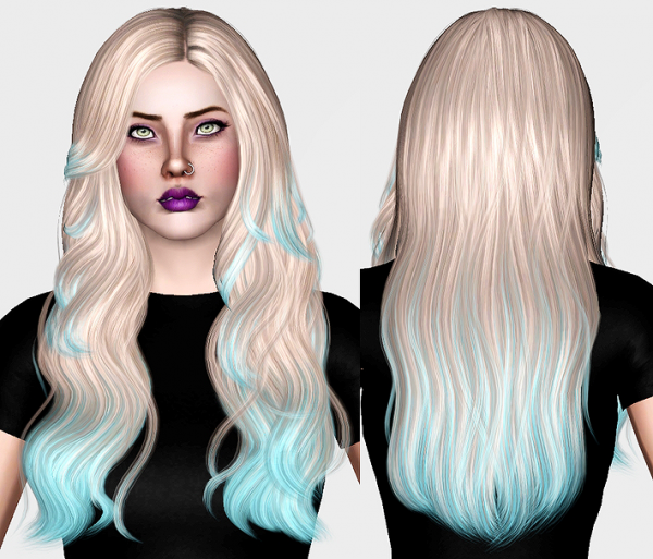 Hair retextured dump part 2 by Chantel Sims for Sims 3