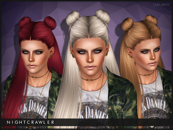 Galaxy hairstyle for sims 3 by Nightcrawler by The Sims Resource for Sims 3