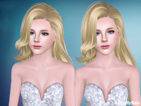 Hairstyle 171 by Butterfly Sims for Sims 3