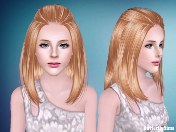 Hair 187 for TS3 by Butterfly Sims for Sims 3