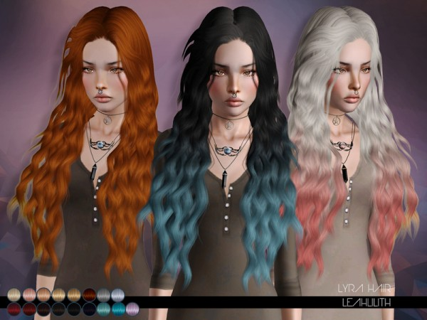 Lyra Hair for TS 3 by LeahLillith by The Sims Resource for Sims 3