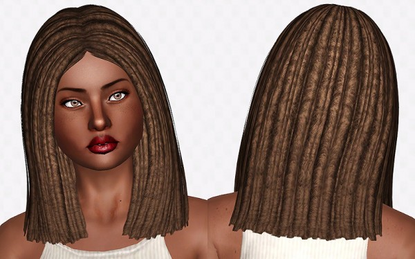 Nightcrawler Antoinette Dreads by Chantel Sims for Sims 3