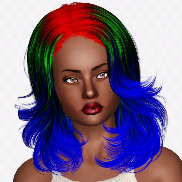 Newsea Badger Game hairstyle retextured. by Chantel Sims for Sims 3