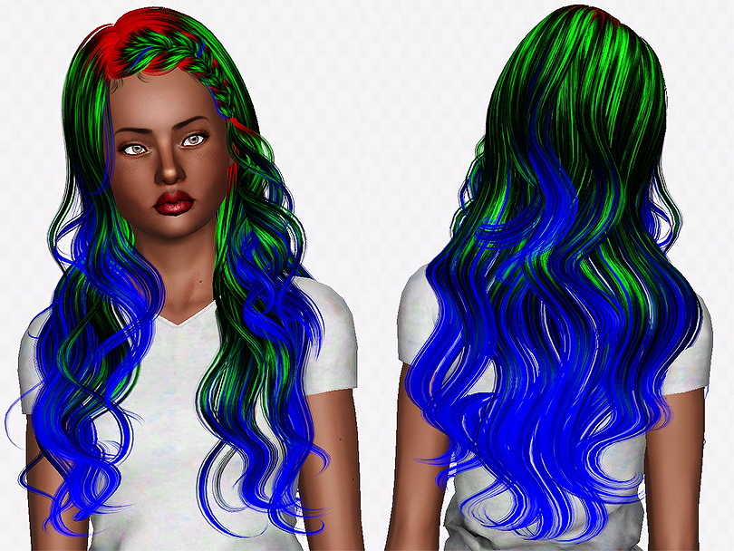 Newseas J063 Lullaby Hairstyle Retextured By Chantel Sims Sims 3