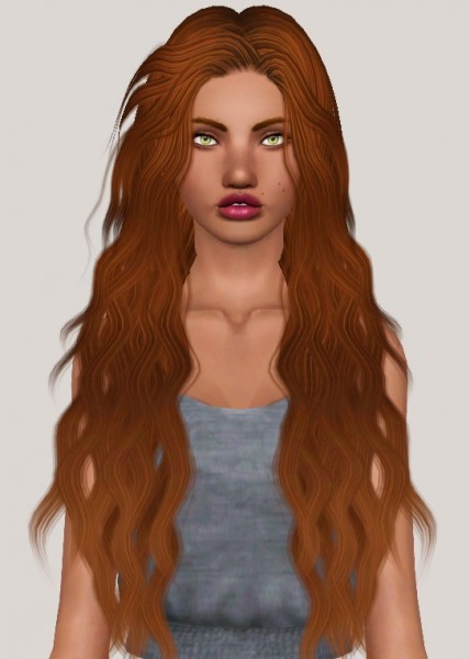 Leahlillith`s Lyra hair retextured by Someone take photoshop away from me for Sims 3