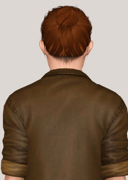 Anto`s Blackout hair retextured by Someone take photoshop away from me for Sims 3