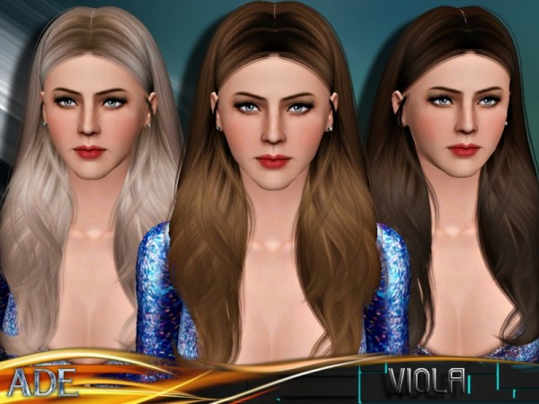 Ade   Viola hair for TS3 by The Sims Resource for Sims 3