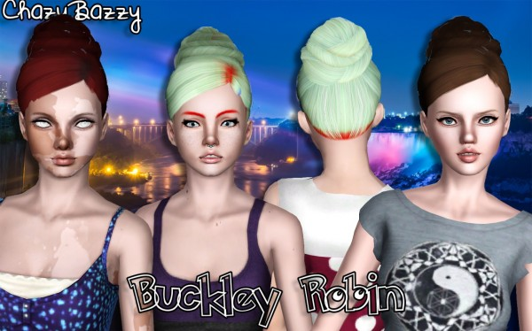 Buckley Hair Dump 4 by Chazy Bazzy for Sims 3